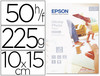 39829 Papel epson glossy photo paper -10x15cm, 50 hojas- 225gr.