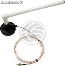 3G UMTS GPRS antenna FME connector and magnetic mount (GS13)