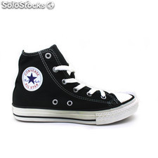 3J231 Zapatillas converse all star negro