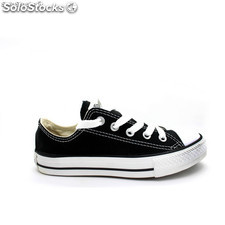 3J235 Zapatillas converse all star negro