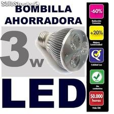 3LED UltraBillantes Bombillas LED Equivalente aprox 40 consumo Rosca E27