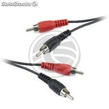 3m Stereo Audio Cable (2xRCA-m/m) (VC22)