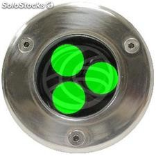 3W LED Focus 90mm green light soil (NF34)