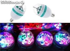 3w led rgb Colorful Rotating Lamp For Christmas
