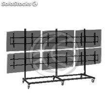 """3x2 TV Stand for screens of 55\"""" (OU33)"""