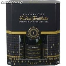 3X20CL champagne brut nicolas feuillate