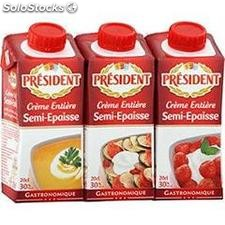 3X20CL creme entiere 30%mg president