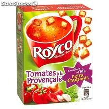 3X20CL soupe ext delice tomate royco