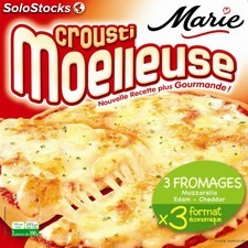 3X390G pizza croustillante fromage marie