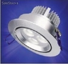 3x3w mini downlight 6000 º k