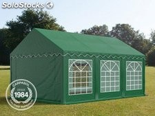 3x6m PVC Marquee / Party Tent, dark green