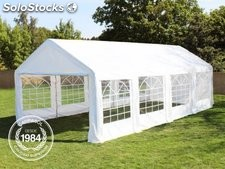 3x8m PE Marquee / Party Tent, white