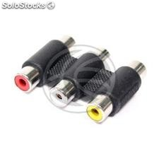 3xRCA Adapter Female to Female (AY58)