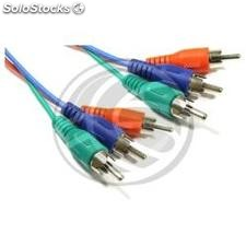 3xRCA rgb Video Cable (m/m) 3m (GB12)