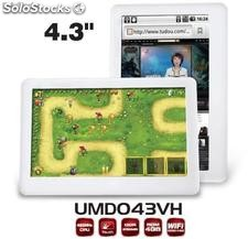 "4.3""mid/tablet pc umd android2.2 Via vt8650@800MHz 256m/4gb écran résistif"