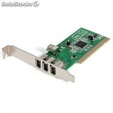 4 port pci 1394a firewire card- 3 external 1 internal