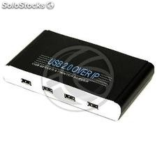 4-Port usb Server ip Plus RJ45 (Moschip) (US62-0002)