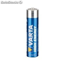 4 x pila batteria alcalina varta high energy mini stilo AAA 1,5 v 46817