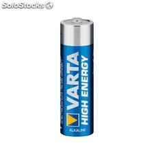 4 x pila batteria alcalina varta high energy stilo AA 1,5 v 46815