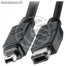 400 ieee 1394 FireWire Cable (4/6 pinos) 1,8 (FW12)