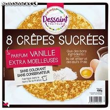 400G 8 crepes sucrees dessaint
