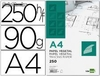 44401 Papel dibujo liderpapel 210x297mm 90g/m2 vegetal