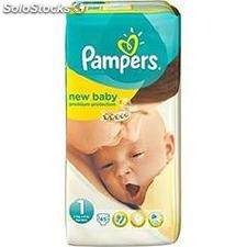 45 changes new baby geant T1 pampers