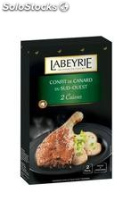 450G confit canard 2 cuisses labeyrie