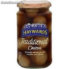 454G pickled onions haywards