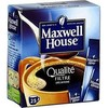 45G doses cafe decafeine normal maxwell
