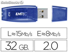 46103 Memoria usb emtec flash c410 32 gb 2.0 azul