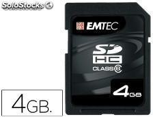 46121 Memoria emtec flash sd 4gb 133x hc