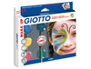 47458 Set giotto make up sombra cosmetica +pincel+esponja+guia maquillaje