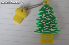 4G Navidad memoria usb Flash Drive USB 2.0 pendrive al por mayor