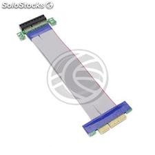 4X PCIe extension 19cm Cable riser card (CX63)