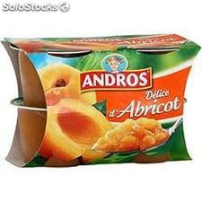 4X100G delice abricot andros