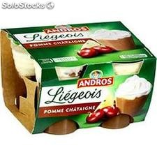 4X100G liegeois pomme/chataigne andros