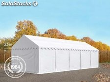 4x10m PVC Storage Tent / Shelter w. Groundbar, white