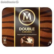 4X110ML magnum double caramel miko
