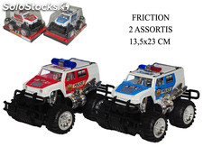 4X4 police friction