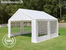 4x4m PE Marquee / Party Tent, white