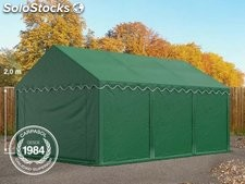 4x6m PVC Storage Tent / Shelter, dark green