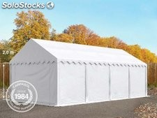 4x8m PVC Storage Tent / Shelter, white
