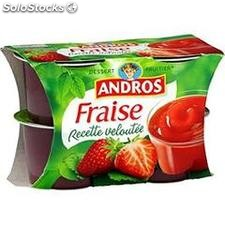 4X97G veloute fraise andros
