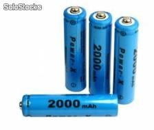 4xaku aaa 2000mah ni-mh power-x