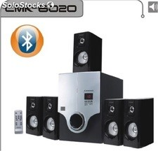 5.1ch multimedia altavoces bluetooth usb sd FM subwoofer rms36w+18w*5 cmk6020