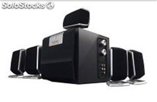 5.1ch multimedia altavoces subwoofer rms 10w+3w*5 cmk3040dx