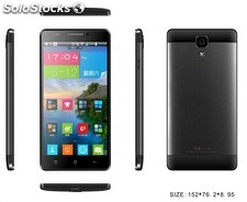 5.5 inch smartphone M7 Android4.4 MTK6582 wcmda gsm dual-sim 1GB 8GB cameras