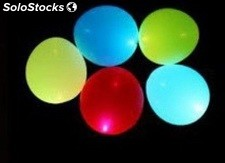 5 ballons lumineux led a gonf