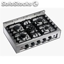 5-burner stove - cod. kpp 96 - gas supply - cooktop rated thermal capacity 14,3